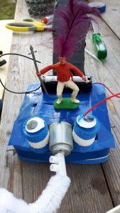 Mooovers technisch knutselen workshop markt festival kraam idee motortjes robots